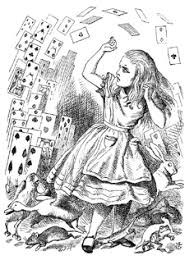 Small Picture Alice in Wonderland Coloring Pages