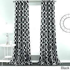 White Patterned Curtains Adorable Black And White Patterned Curtains Chaplinssteakhouseco