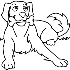 Small Picture Dog Coloring Pages For Kids Preschool Crafts Dog Coloring