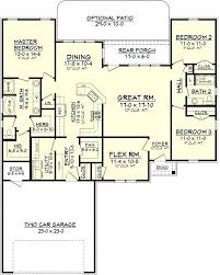 3 Bedroom 2 Bath House Plans Cool Design Inspiration