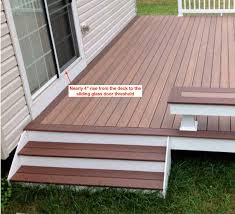 threshold ramp for your sliding glass door