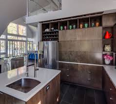 man made countertop surfaces comprise a variety of styles including quartz or engineered stone concrete based recycled glass and resin based recycled
