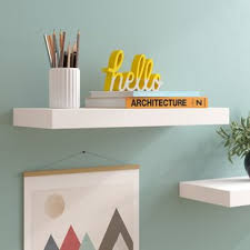 Decorative wall shelving Floating Shelves Quickview Birch Lane Decorative Shelving Birch Lane