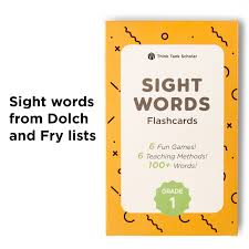 sight word 1st grade first grade dolch fry sight words flash cards 1st grade think