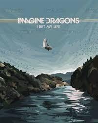 imagine dragons poster by joshua gluck on creativeallies