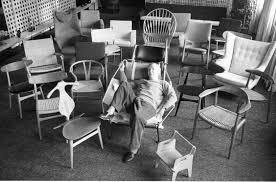 hans j wegner among his chairs hatje cantz