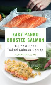 Maple Dijon Panko Crusted Salmon Recipe ...