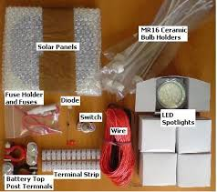 put together an reuk solar lighting kit reuk co uk solar shed lighting circuit solar panels