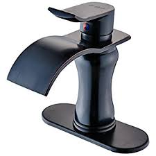 oil bronze bathroom faucets. BWE ORB Waterfall Bathroom Sink Faucet Single Handle One Hole Oil Rubbed Bronze Deck Mount Lavatory Faucets O