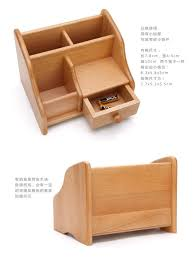 office desktop storage. Wood Remote Controller Storage Box Creative Wooden Office Desktop Bins Ideas F