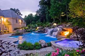 Pool Waterfalls Ideas For Your Outdoor Space Home Design Lover