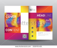 Business Bifold Brochure Templates Fold Leaflet Stock Vector ...