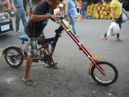 handmade bicycle chopper custom made in the philippines youtube