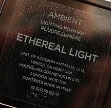 hourglass ambient lighting powder in ethereal light 4
