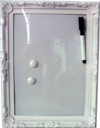 Wipe Clean Memo Board Best Home Furnishings Handcrafted Resign Ornate Decorative Framed Wipe