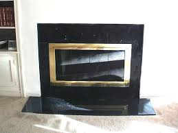 black marble fireplace surround photo 1 antique