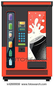 Vending Machine Graphics Best Clip Art Of Vending Machine With Soft Drinks K48 Search