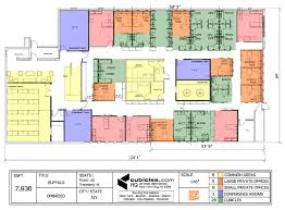 the office floor plan. Floor Plan Of The Office. Office Plans - With Cubicles, Common Areas, R