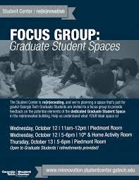 focus group flyers gt georgia institute of technology campus calendar re in