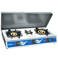 stainless steel 1 or 2 3 burner gas stove table top cooker with cover ne propane