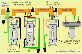 4 way switch wiring diagram multiple lights brainglue co