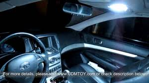 2012 infiniti g37 interior. direct exact fit led panel lights interior package for 20072012 infiniti g37 youtube 2012 i