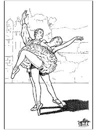 Ballet 9 Kleurplaat Ballet