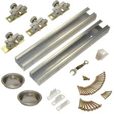 bypass door hardware. Johnson Hardware 100SD Series 60 In. Track And Set For 2-Door Bypass Door