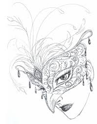 Mask Rough Sketch By Aruarian Dancer On Deviantart Mask And