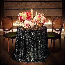 black table clothes inch round black sequin tablecloth wedding beautiful black sequin table cloth overlay cover