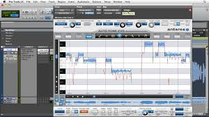 Pro Tools Latency Chart Pro Tools Pitch Correction With Antares Auto Tune Evo