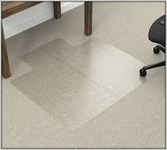 clear acrylic desk mat