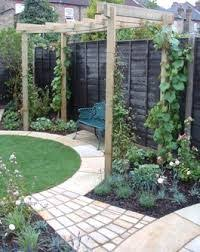 Small Picture Circular lawn round themed garden design with a curved path and