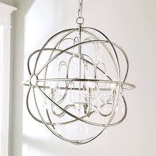 metal orb chandelier fl orb 4 light mini chandelier large metal orb chandelier world market