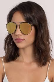 mirror aviator sunglasses. quay quay indio black \u0026 gold mirrored aviator sunglasses mirror e