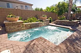 Inground Swimming Pool Designs Ideas Incredible Nice Small Yard In  Inspiration Deluxe Pools 3