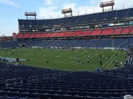Titans Seating Chart With Rows Nissan Stadium Section 130 Home Of Tennessee Titans Tsu