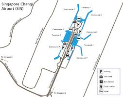Singapore Changi Airport Sin Guide To Buses Taxis And