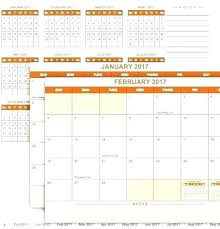 Perpetual Calendar Template Excel Calendar 7 Free Samples Examples