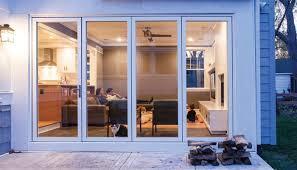 great folding glass patio doors