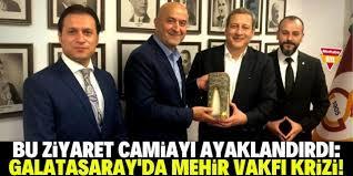 Galatasaray'da Mehir Vakfı krizi!