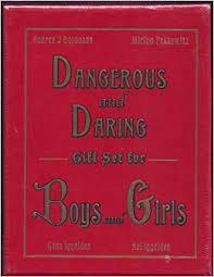 dangerous and daring gift set for boys and s andrea j buchanan gonn iggulden hal iggulden miriam peskowitz 9780061727733 amazon books
