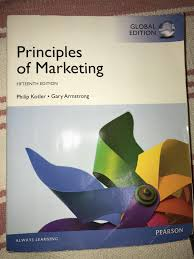 Pearson Learning Design Principles Principles Of Marketing Textbook Pearson Good Condition