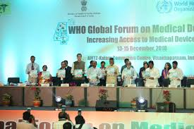 2018 Design Of Medical Devices Conference India Hosts 4th Who Global Forum On Medical Devices
