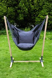 glamorous hammock chair stand diy noa hanging made of hardwood brazilian teak with
