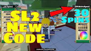 Shindo life is a reenvision of shinobi life by the original developers. New Sl2 Free Code Shinobi Life 2 Gives 30 Free Spins Roblox Roblox Coding Life