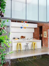 Loft Kitchen Brick Loft Kitchen