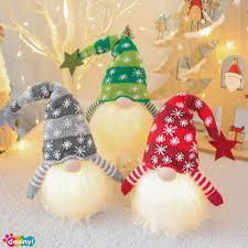 DEXINYI <b>Christmas Luminous Decoration Dwarf</b> Plush Doll ...