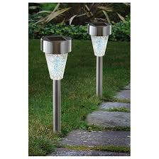 12 westinghouse mosaic glass solar lights 584656 outdoor