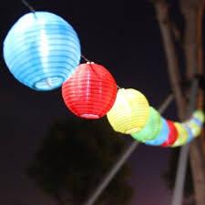 Cheap 10 Inch Yellow Solar LED Chinese Lantern For Sale  Garden Chinese Lantern Solar Lights